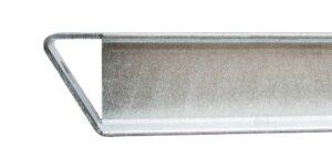 Kragarm mit Abweiser 300x143 - Kragarmregal einseitig, Höhe 3500 mm, Tiefe 1200 mm, feuerverzinkt