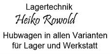 Logo Lagertechnik und Freizeit Heiko Rowold