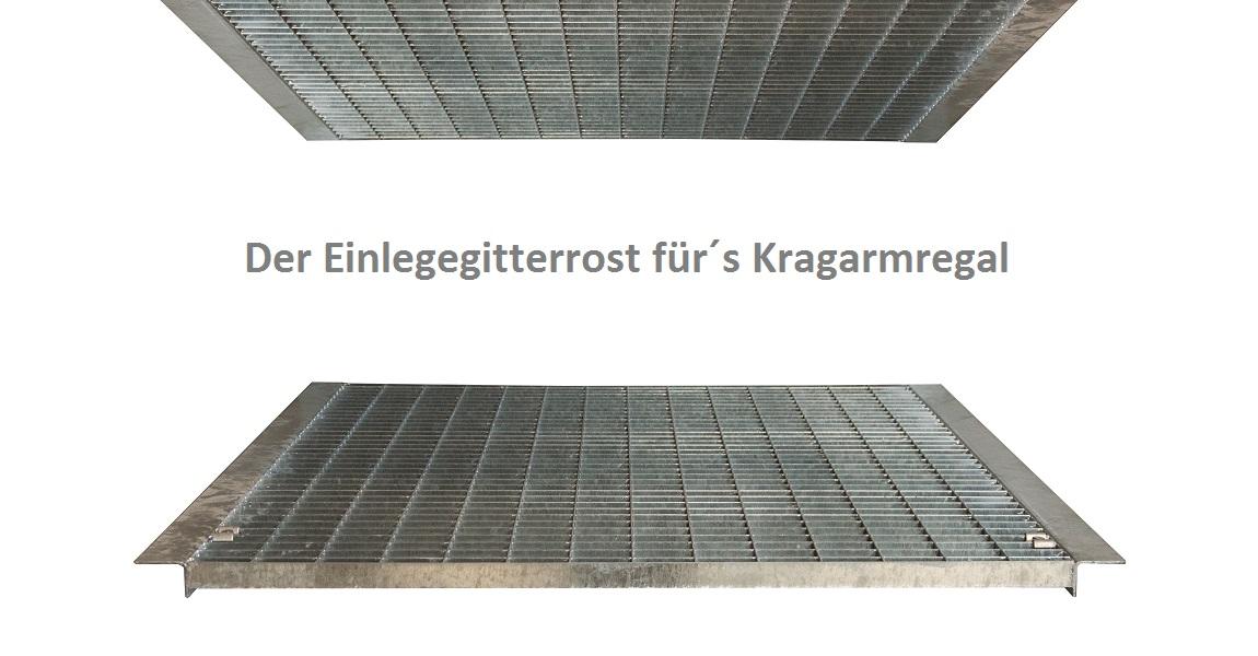 Gitterrost Kragarmregal - Gitterroste