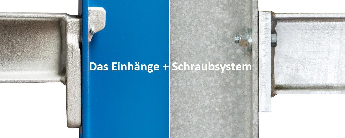 Kragarmregal Einhnge und Schraubsystem - Kragarme und Zubehör