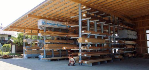 Singer Kragarmregale in der Holzbranche